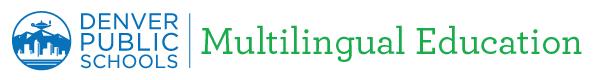 Denver Public Schools Multilingual Education logo